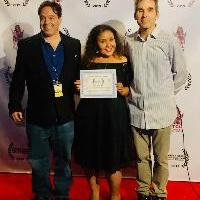 Filmmaker / Actress ANGELA MATEMOTJA Awarded BEST INSPIRATIONAL FEATURE for 'ELEVATE' at Golden State Film Festival 3