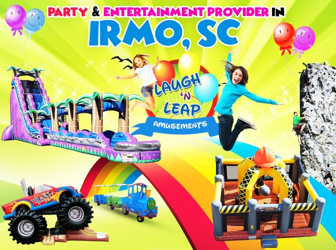 Laugh n Leap Offering Bounce House Rentals For Irmo SC Parties 4