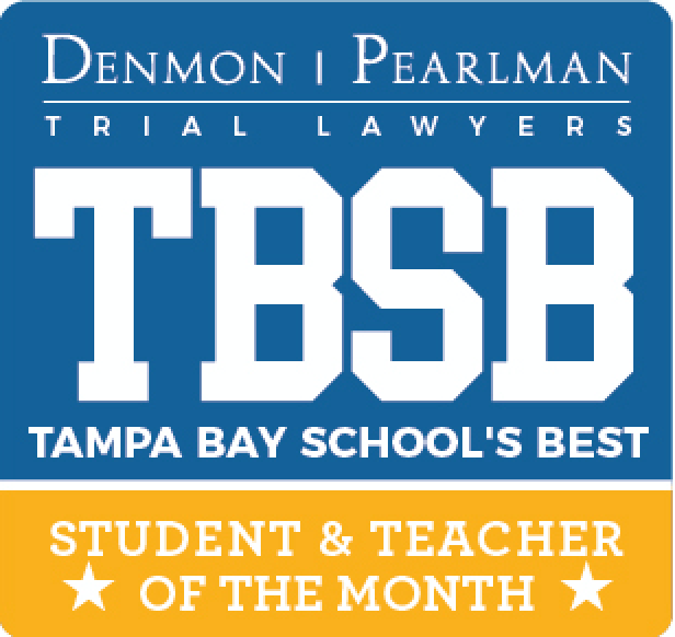 Tampa Bay Law Firm Denmon Pearlman Launches Teacher and Student of the Month Awards Program 5