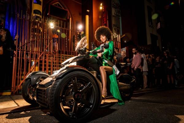 Can-Am Ryker and Art Hearts Fashion Bring the Hottest Three-Wheel Accessory to New York Fashion Week 7
