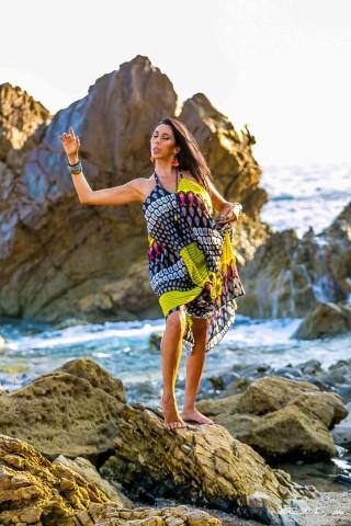 The O Factors' Jennelle Gordon, Debuts Online Dance Om Yoga Boot Camp 3