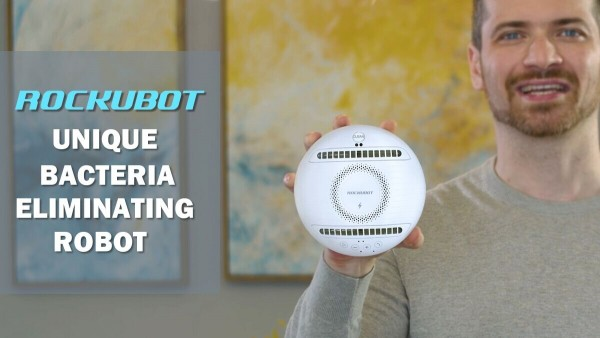 KickStarter Campaign Launches Innovative Bacteria-Eliminating Robot – Rockubot 7