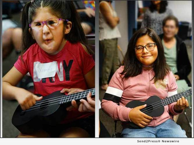 Asia America Symphony Association (AASA) – Notes Bring Hope Provides Ukuleles and Lessons for Visually Impaired 10