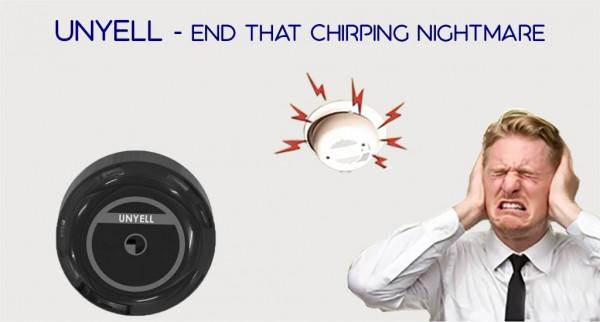 Unyell, Fire Alarm Shield to Shut False Fire Alarms, Launched on Kickstarter 2