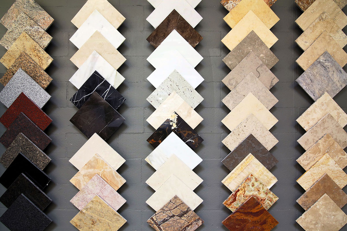 new arrival of tiles at polaris