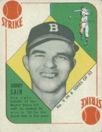 1951 Johnny Sain front
