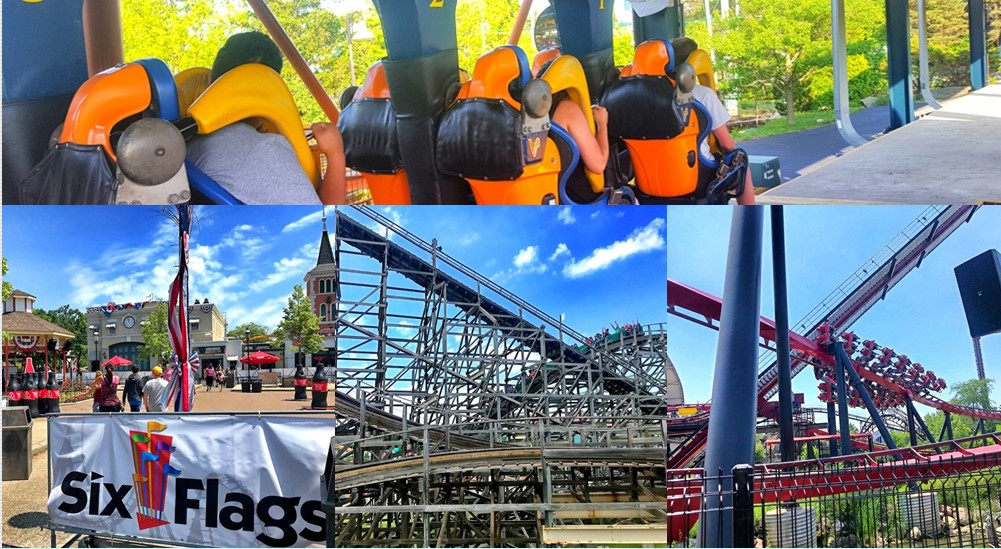 PRessSerbia travelers: Predstavljamo SIX FLAGS GREAT AMERICA zabavni park