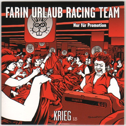 Farin Urlaub Racing Team - Krieg - Album CD Cover