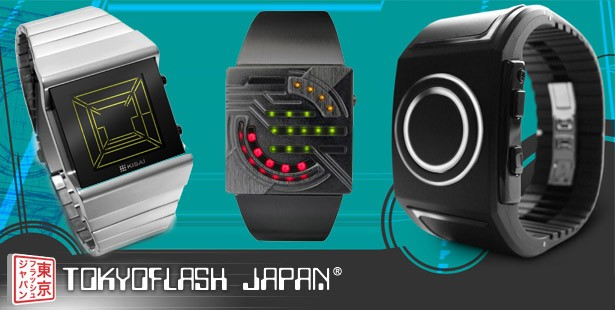 Coole Uhren von tokyoflash watches vorgestellt im Pressure Magazine