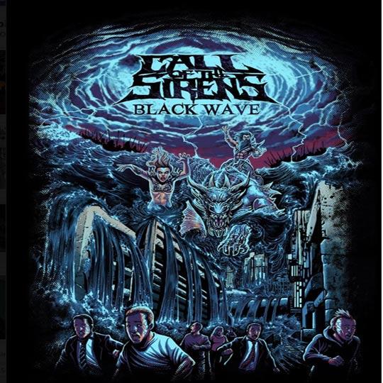 Album Cover:CalloftheSirens BlackWave