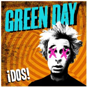 Albumcover Punkrock Band Green Day Dos