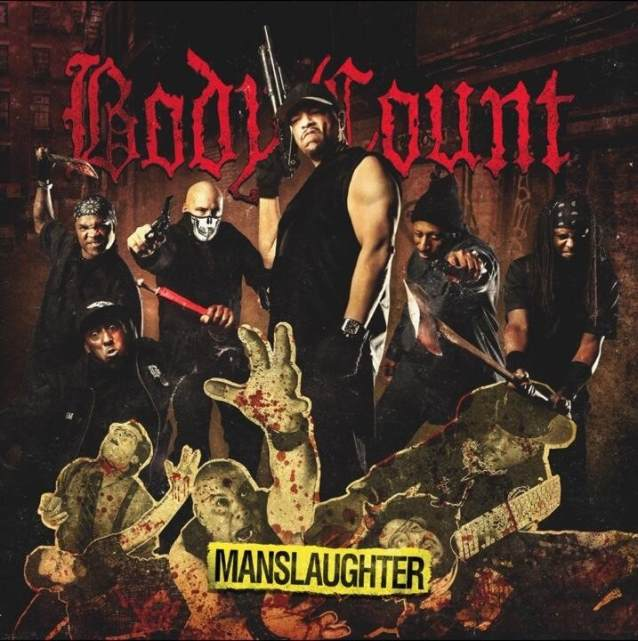 "Bodycount ""Manslaughter"" (2014) Album Cd-Cover"