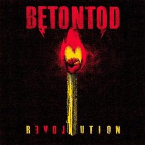 BETONTOD-Revolution Albumcover 2017
