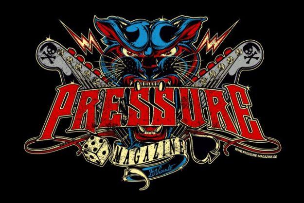 Pressure-Magazine-de  Offizielles Logo
