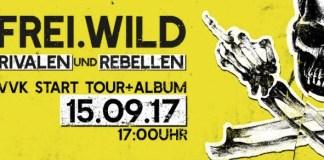 FREI.WILD Rivalen & Rebellen - News zum neuen Album Rivalen und Rebellen und Freiwild Tour 2018