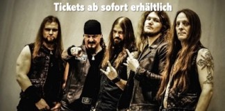 Iced Earth Tour konzertkarten Tickets Konzerte 2018