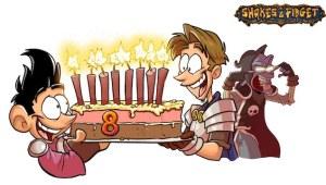 MMO Online Rollenspiel Shakes and Fidget Game wird acht Jahre alt