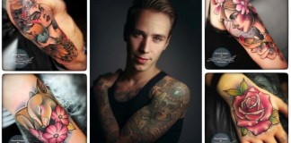 Frank Danisch Tattoo Nachwuchskünstler Tempel München Interview Pressure Magazine November 2017