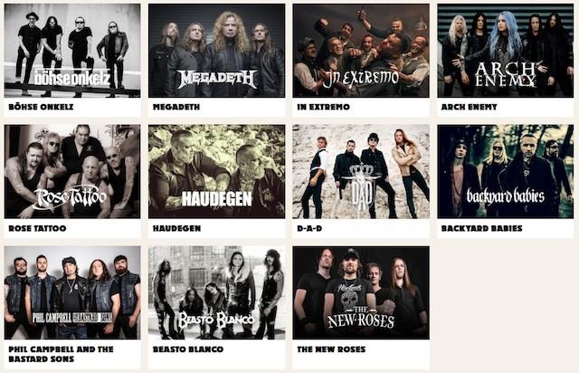 MATAPALOZ Festival Band Lineup 2018