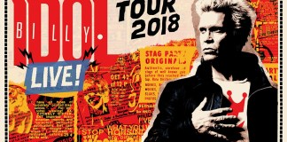 Billy Idol Ticket Konzerte 2018