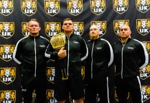 WWE NXT UK Tag Team IMPERIUM Performance Center PressureMagazine Foto: Marcus Liprecht