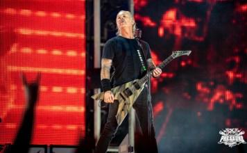 Metallica Sänger James Hetfield Mannheim Open Air 2019 - Foto: Mario Schickel