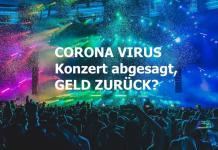 Coronavirus: Veranstaltung abgesagt - Ticket gekauft, was jetzt?