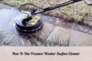 Pressure Washer Surface Cleaner
