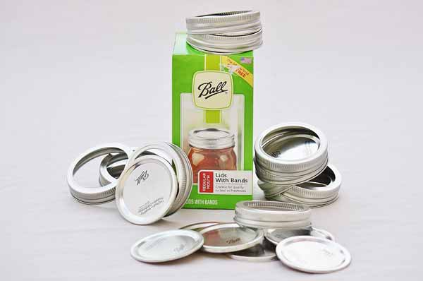 Ball Regular Mouth Lids and Bands Canning Jar Lids