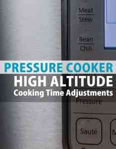 Pressure cooker high altitude cooking time chart also cook recipes rh pressurecookrecipes