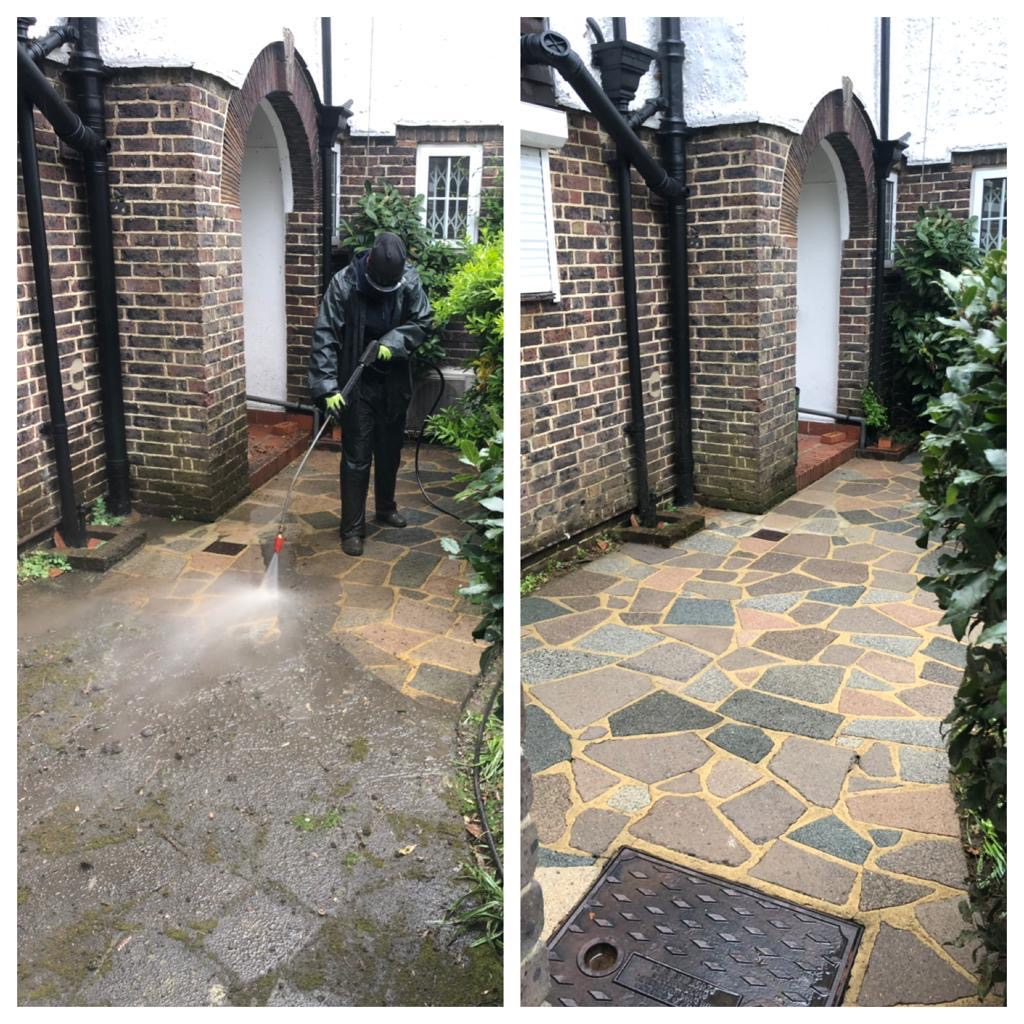 patio jet washing