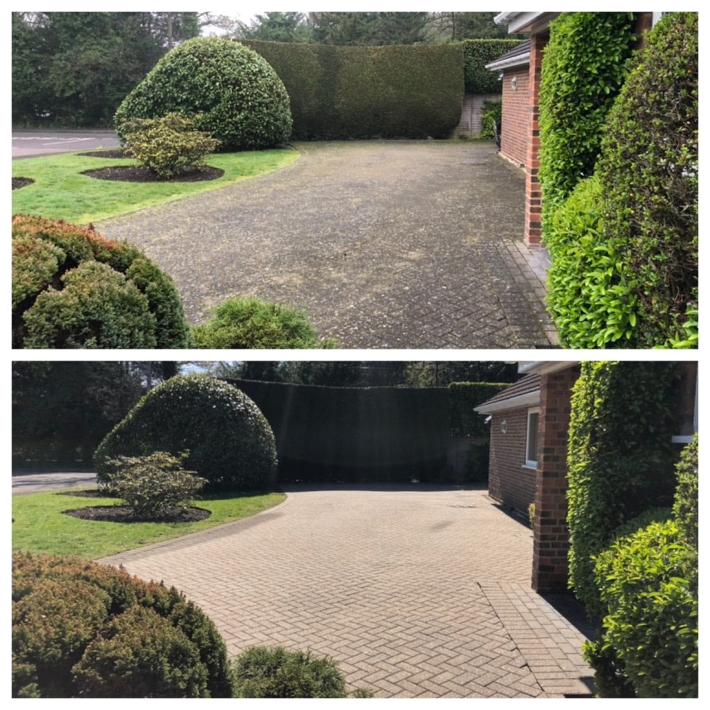 Driveway cleaning service in Portsmouth