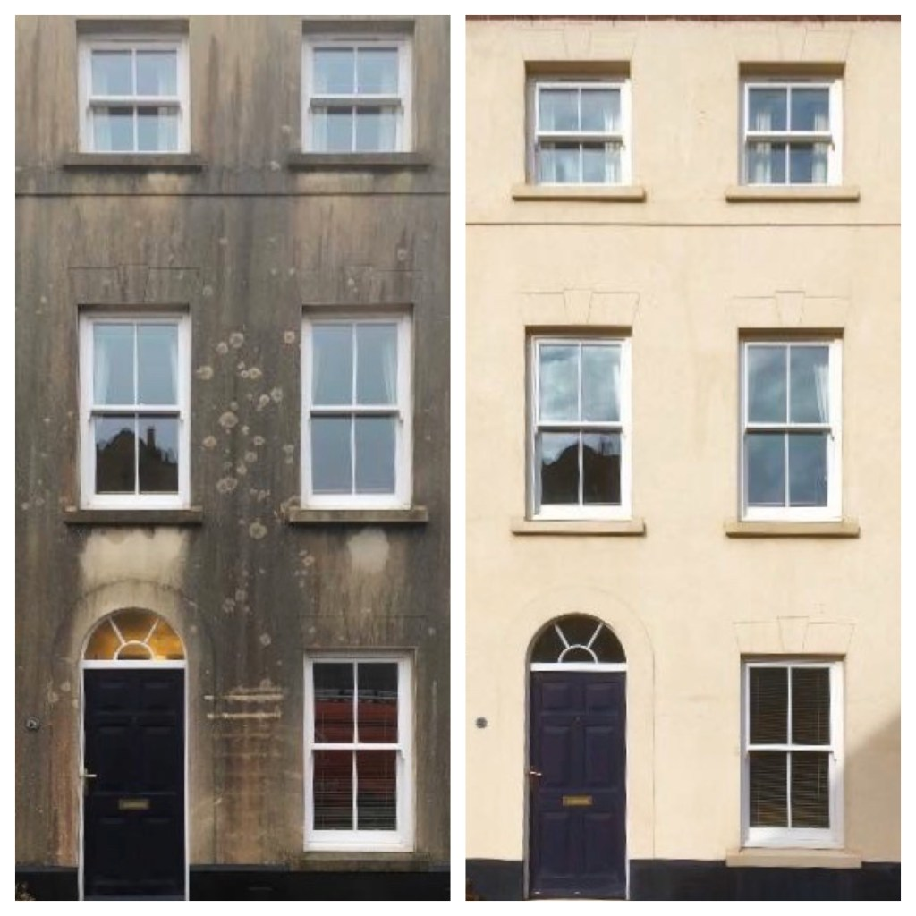 render cleaning services in Hampshire