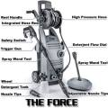THE FORCE 2000 1.6 GPM 2000 PSI Electric Pressure Washer Review