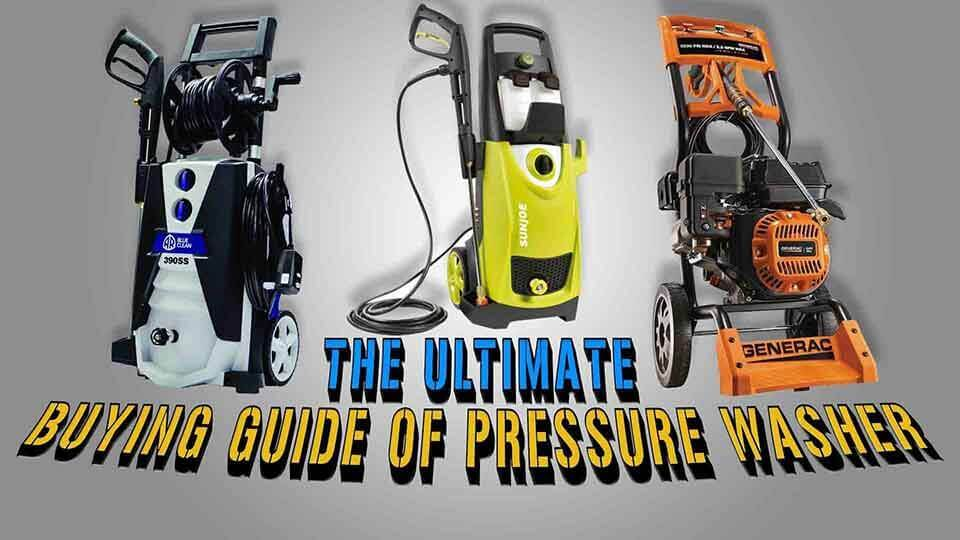 Some Important things you should consider to buy a best pressure washer