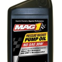 Mag 1 (60694-6PK) Pressure Washer Pump Oil - 1 Quart, (Pack of 6)