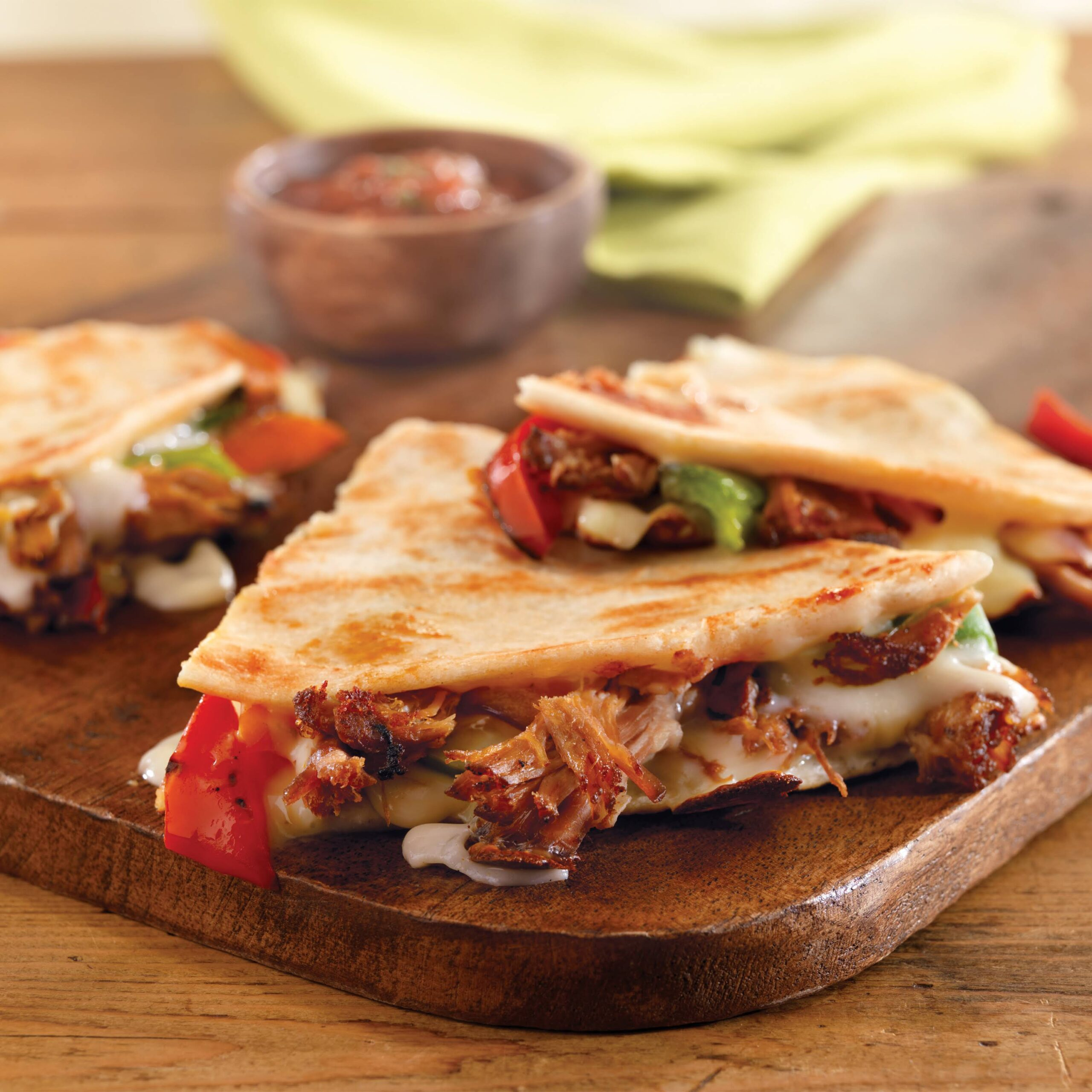 Kid-Friendly Pulled Pork Quesadillas