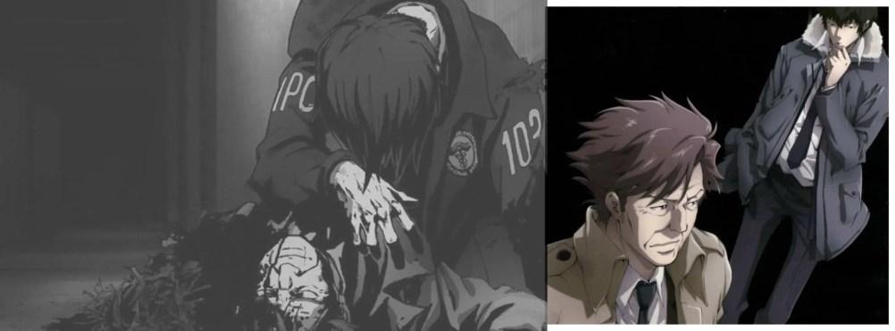 Ginoza and Kogami Psycho Pass