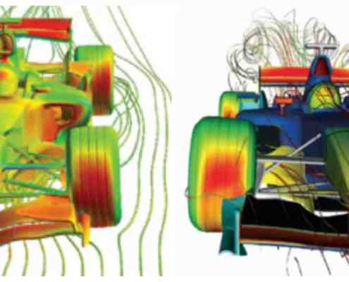 Aerodynamics in F1