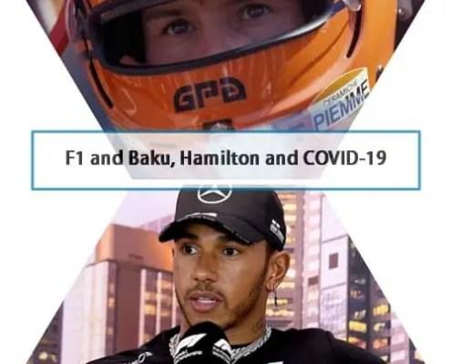 F1, cornoavirus, hamilton and Canada GP
