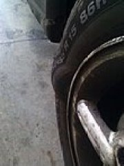 structural failure tyre