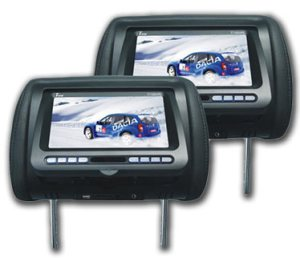 Mobile Video Headrest Monitor