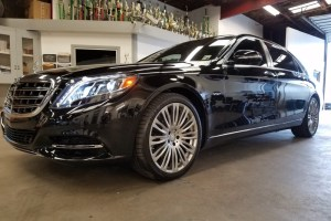 Mercedes S600 Maybach Window Tint