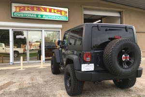 Metairie Jeep Owner Comes To Prestige For Wrangler Audio Upgrade