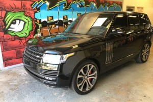Massive Range Rover Audio Upgrade for Thibodaux Client