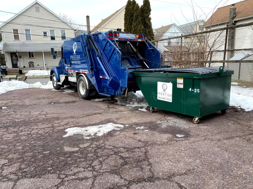 Tunkhannock PA Wyoming County Rearload Dumpster Services