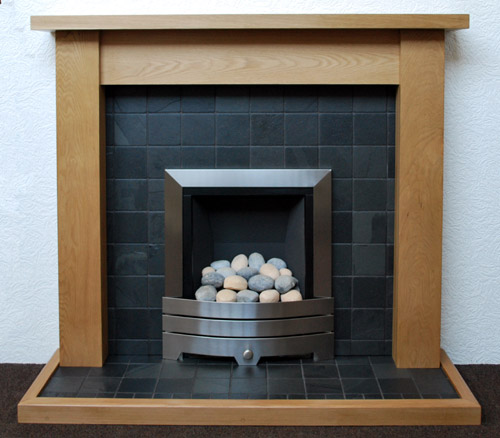 black slate fireplace nottingham