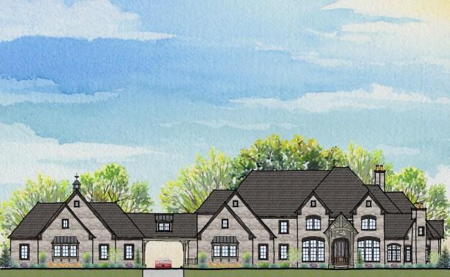 Sprawling New Custom Two Story Design Prestige Homes