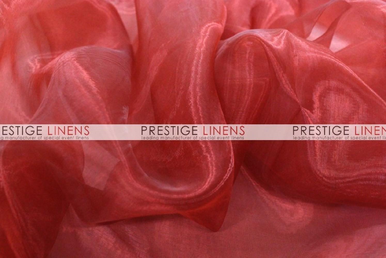 Mirror Organza Sash627 Cranberry  Prestige Linens