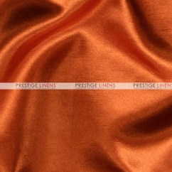 Scuba Chair Covers Wholesale Fabric To Recover Dining Chairs Shantung Satin Cover - 337 Rust Prestige Linens